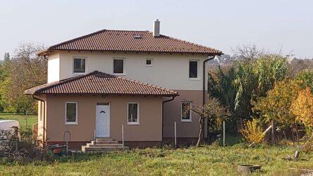 Diósdon épül a kétszintes családi ház.